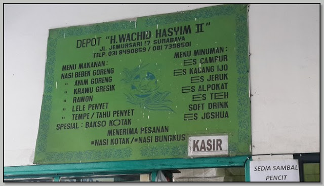 Tempat Makan Surabaya Buka 24 Jam – Lezatnya Nasi Bebek Goreng Wachid Hasyim