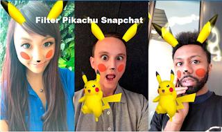 Filter Pikachu Snapchat memungkinkan Anda mengubah diri Anda menjadi Pokemon