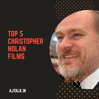 Best work of Christopher Nolan is listed in this blog