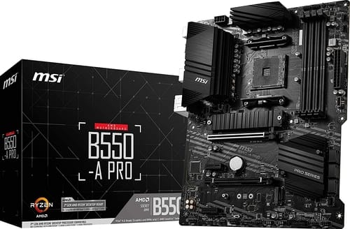 Review MSI B550-A PRO ProSeries Motherboard