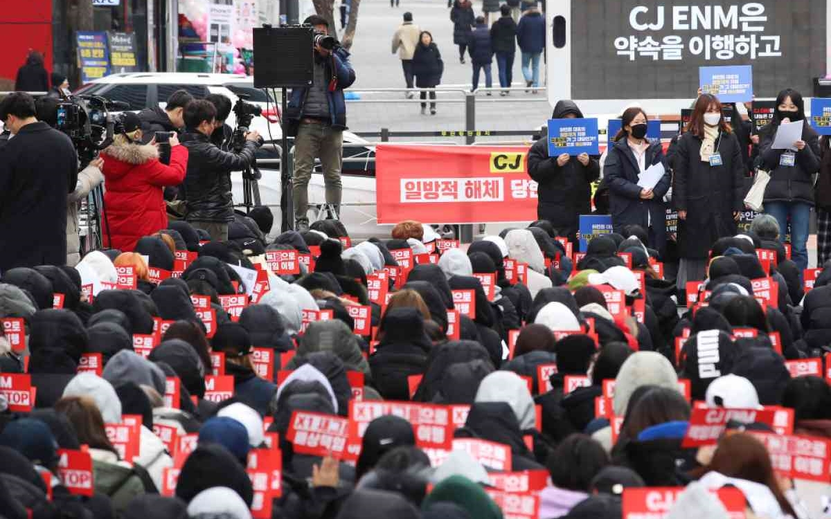 X1 Fans in Korea Cancel Protests Action Due to Corona Virus Warn
