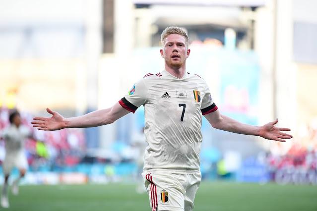 Belgium Kevin De Bruyne Euro 2020