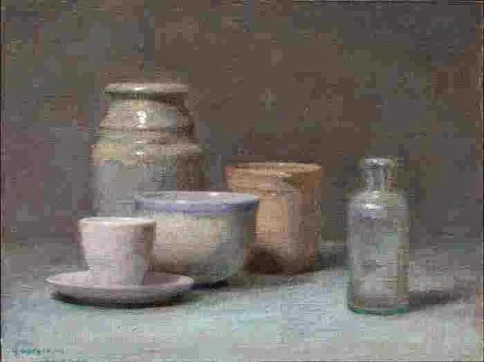 Американский художник. Kevin Gorges