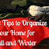 10 Simple Tips to Organize your Home for Fall & Winter