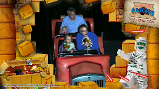 official Legoland Windsor picture of a laser shooting game