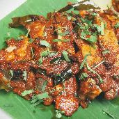 Serving Pomfret fish pieces for Pomfret fish tawa fry recipe