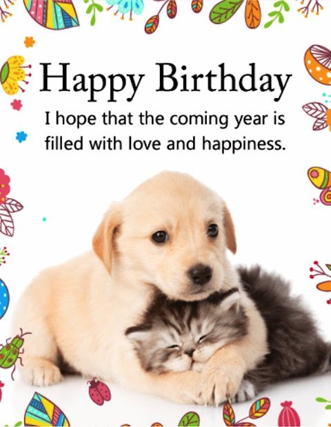 (*MARVELOUS*) Birthday Wishes for Dogs