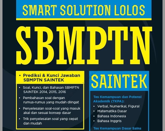 Primagama Smart Solution Lolos SBMPTN SAINTEK