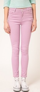 Lilac Jeans from Warehouse