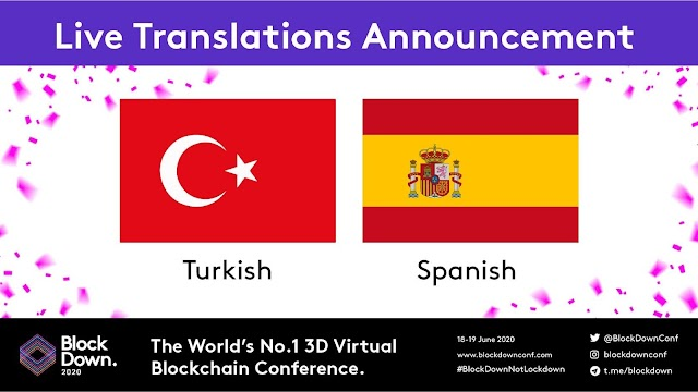 Virtual Conference BlockDown Going Global with Live Turkish and Spanish Translation