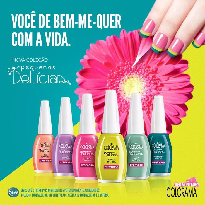 Esmalte Colorama :: Cata Conchinha - Resenha