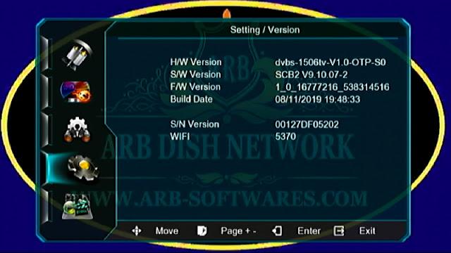 SUNPLUS 1506TV SCB2 V9.10.07 DOLPHINE IPTV 8 NOV  2019