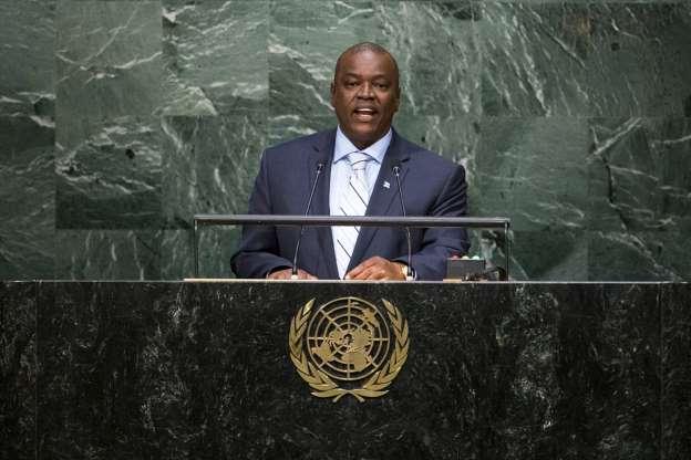 Botswana's new president sworn in