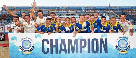 FÚTBOL PLAYA - Euro Beach Soccer League 2016 Superfinal (Catania, Italia): Ucrania destrona a Portugal y consigue su primer título