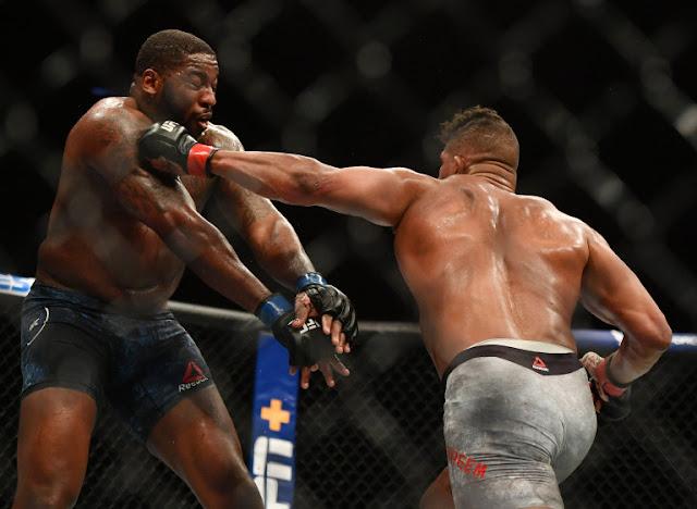 Alistair Overeem Tags Walt Harris UFC on ESPN 8