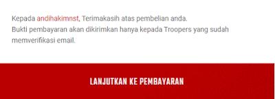 Top Up Cash PB Zepetto Indonesia - Lanjutkan Pembayaran