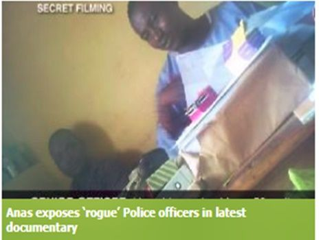 Video: Anas strikes again; exposes 'rogue' Police officers