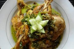 Resep Ayam Gepuk Lombok Ijo bunda Mei Basuki