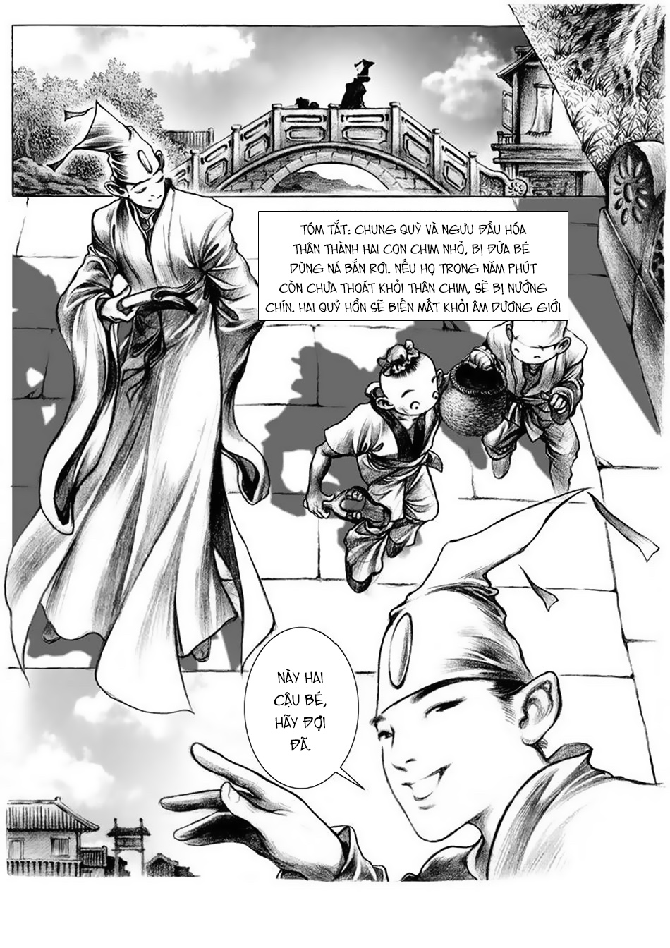 Chung Quỳ Truyền Kỳ Chap 8 - Next Chap 9