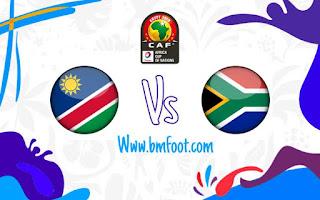 ملخص مباراة جنوب افريقيا و ناميبيا مباشرة اليوم في كأس أمم افريقيا 2019