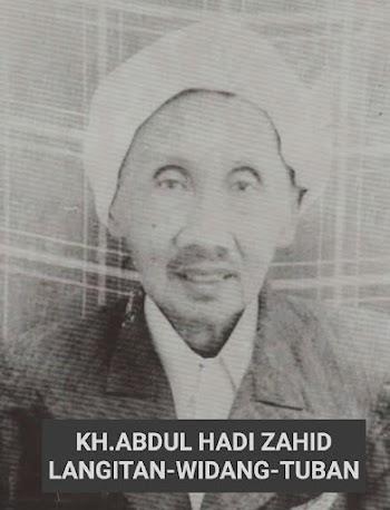 SYAIR KARYA KH. ABDUL HADI  ZAHID