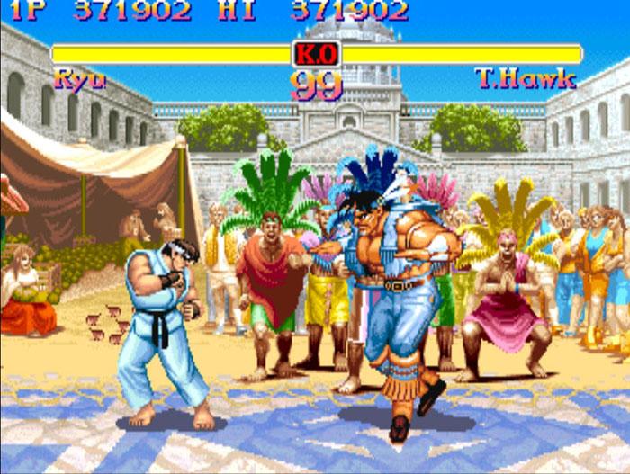 online game street fighter 2