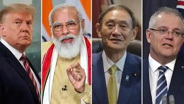 India Quad meet that ruffles China