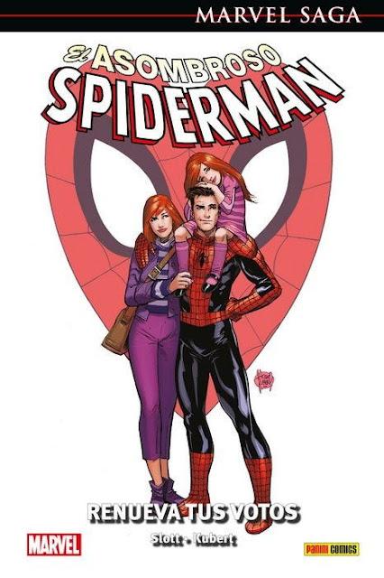 Reseña de Marvel Saga. El Asombroso Spiderman 50. Renueva tus votos de Dan Slott - Panini Comics