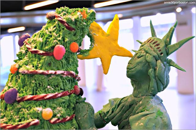 """Casitas de Jengibre en Boston: """"Liberty & Christmas for All"""""""
