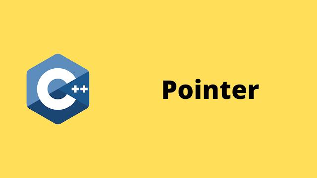 HackerRank Pointer solution in c++ programming