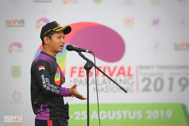 Bupati Trenggalek Buka Festival Paralayang Nasional 2019