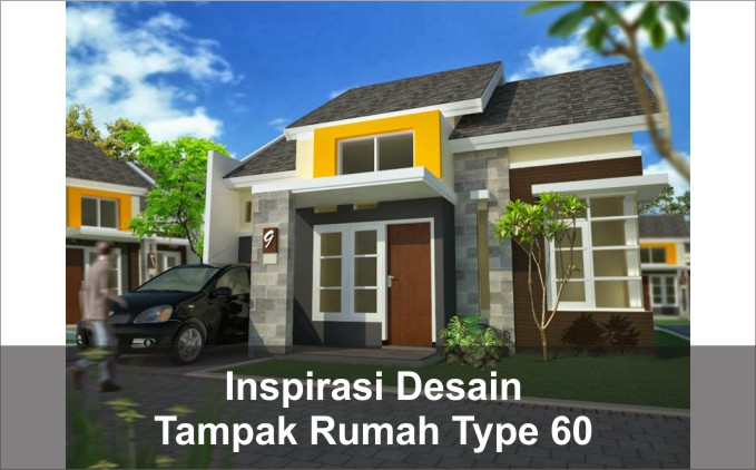 desain Tampak rumah type 60