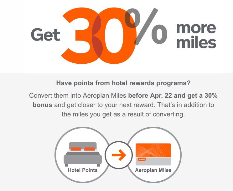 Rewards Canada: 30 to 35% Bonus Aeroplan Miles when you ...