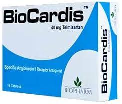 سعر ودواعى إستعمال دواء بيوكارديس Biocardis لعلاج إرتفاع ضغط الدم