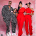 Nollywood actor, Ninalowo Bolanle shares beautiful family photo with his wife and kids.