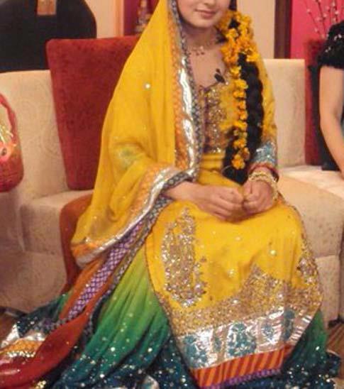 Mehndi And Mayon Decoration : Fashion tips box mehndi mayon party dresses for girls