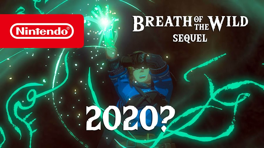 legend of zelda breath of the wild sequel rumored release 2020 nintendo switch