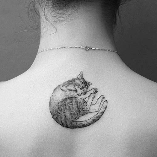 kedi dövmeleri cat tattoos 35