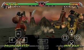 Mortal Kombat X PPSSPP Android High Compressed