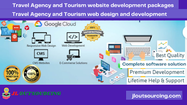 Travel Agency and Tourism website development packages