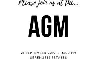 2019 AGM Announcement