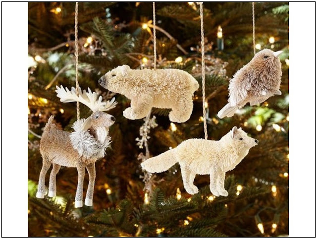 Rustic Woodland Christmas Ornaments