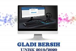 JADWAL GLADI BERSIH UNBK TAHUN 2020