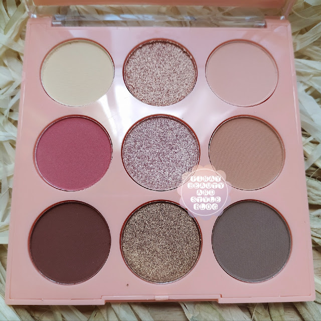Neutral Squad Eyeshadow Palette from Squad Cosmetics