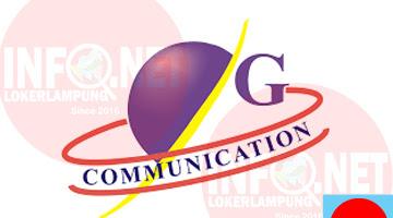 Lowongan Kerja Lampung Account Officer PT. Golden Communication