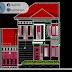 مخطط مشروع مسكن عائلي دوبلكس 4 اتوكاد dwg
