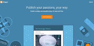 Cara membuat blog dengan blogger.com
