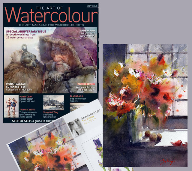 "Revista ""The art of Watercolour"" Nº35"