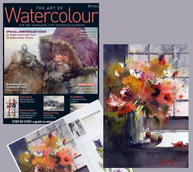 "Revista ""The art of Watercolour"" Nº35"