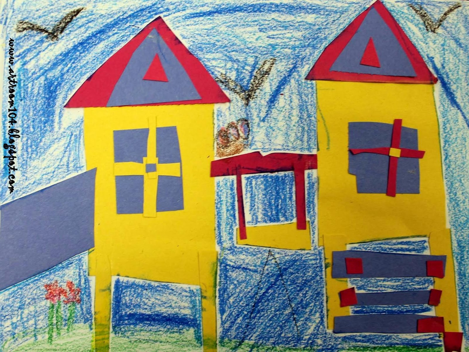 Art Room 104 Primary Playgrounds A Review In Shape And
